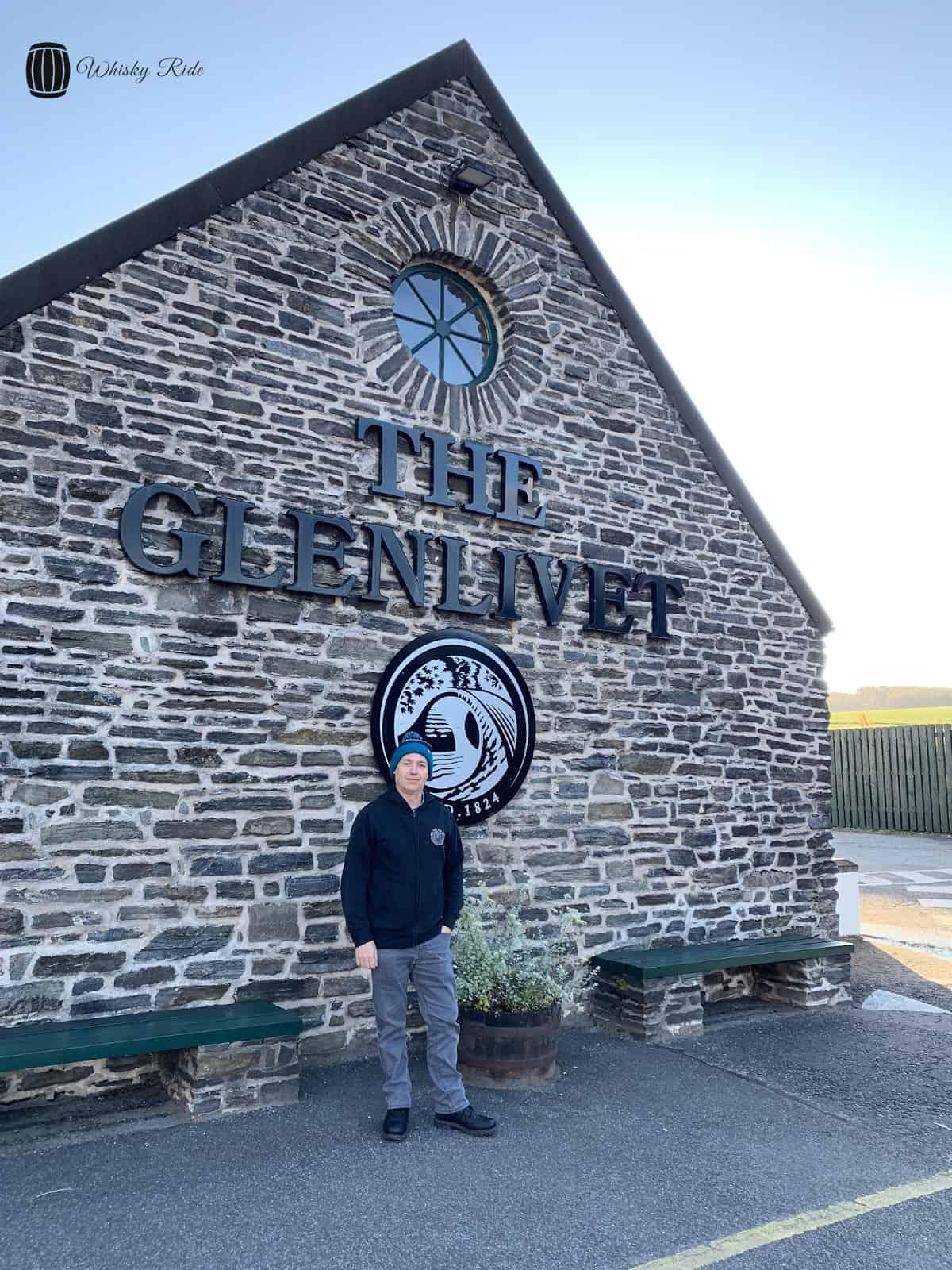 The Glenlivet Entrance Sign