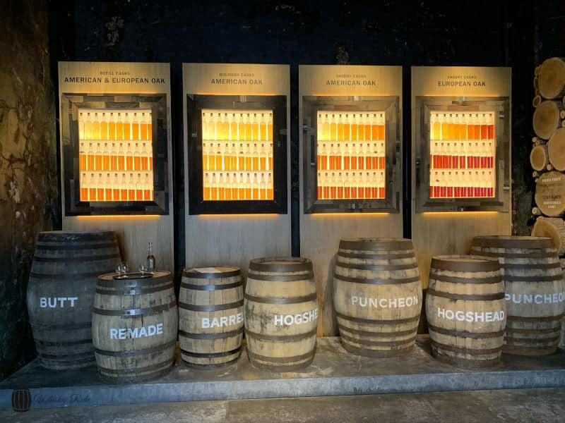 Glengoyne Maturation Display