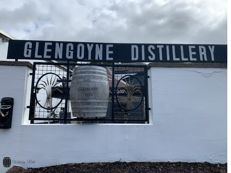 Glengoyne Sign and Barrel