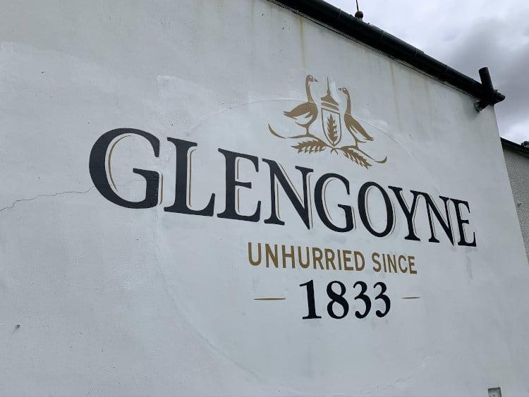 Glengoyne Wall Signage