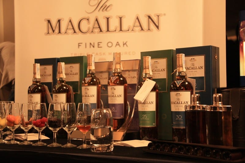 Collection of Macallan