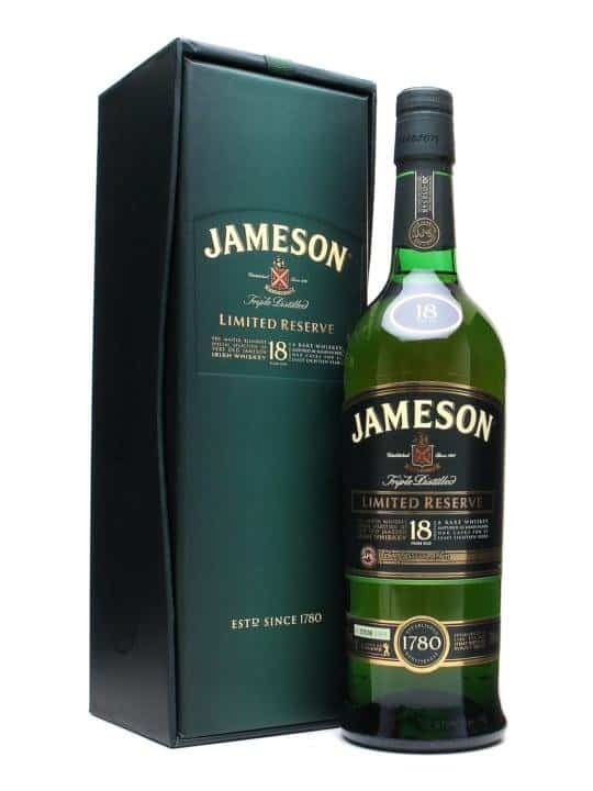 Jameson Triple Distilled 18 Year Old