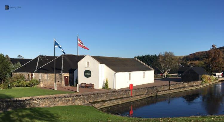 Glenfiddich Distillery with Pond